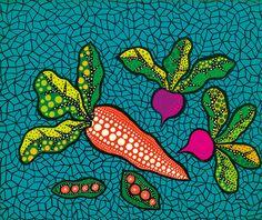 Vegetables by Yayoi Kusama