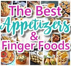 Looking for easy crowd pleasing finger foods, hot dips and appetizers recipes for a party or special occasion, weekend tailgating or the Super Bowl? Whether it's New Year's …