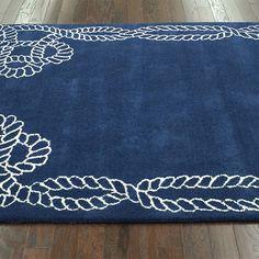 rugs usa satara lasso royal blue rug | baby nursery | pinterest
