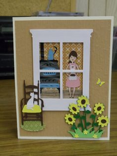 Window card...looking in