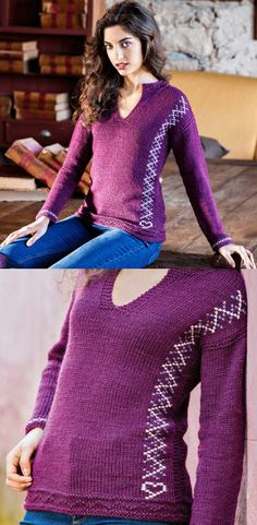 Capuccino Sweater Free Knitting Pattern Download