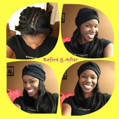 In Between Hair Ointment There S No Need To Sacrifice Your Style The Is Attached Scarf