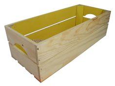 """Caja de madera de pino """"Rectangular"""""""
