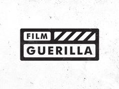 OK... No Monogram. No Camera. Nothing related to guerilla, No Arrows-Guns-Bombs-Stars.   How about a clapperboard inspired logo?  Oh yes this is cool! Or... Maybe not this...  Silence.