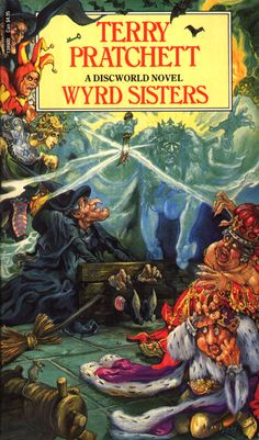It's those Witches again    Wyrd Sisters by Terry Pratchett
