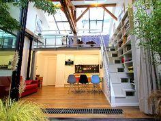 3rd Arrondissement Le Marais Apartment Rental: Architect's Duplex Loft In The Heart Of The Marais | HomeAway