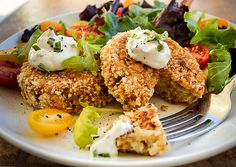 Medallones de coliflor | #Receta de cocina | #Vegana - Vegetariana ecoagricultor.com