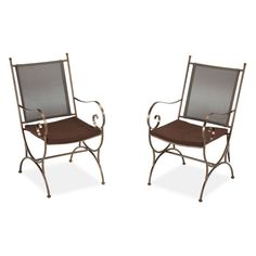 Home Styles Sundance Patio Dining Chair with Cushion - Set of 2 - 5608-802