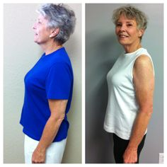Mrs. Pam has lost 20lbs and 40 inches in 8 weeks!