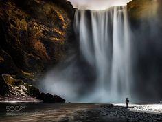 Popular on 500px : Misty Falls Skogafoss Iceland by philnortonphotography