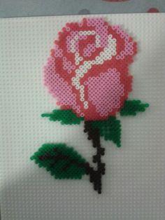 Rosa Bead Loom Patterns, Loom Beading, Plastic Canvas, Perler Beads, Mini, Ideas, Art, Pink, Atelier