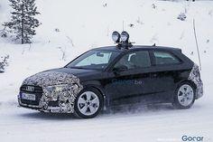 Scoop : the new Audi A3 3 doors