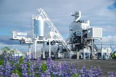 XPRESS 2500 in Iceland.  #asphalt #asphaltplant #marini #fayatgroup #xpress
