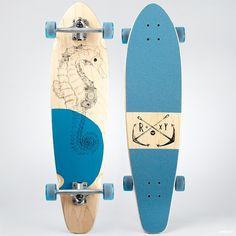 Roxy longboard.