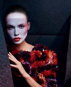 Natasha Poly photographed by Txema Yeste