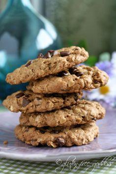 Gluten-Free Goddess Recipes: Gluten-Free Oatmeal Chocolate Chip Cookies Recipe