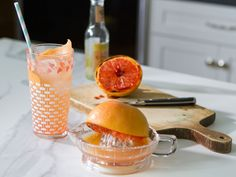 Ginger Grapefruit Fizz Cocktail recipe from Trisha Yearwood via Food Network