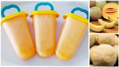 Mézes sárgadinnye jégkrém készítése Naan, Hot Dogs, Ethnic Recipes