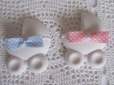 Carrozzina in gesso per bomboniere nascita o battesimo, by ♥La casa di Gaia♥, 1,50 € su misshobby.com