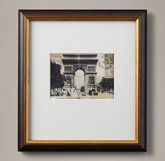 Vintage French Postcard - L'Arc De Triomphe
