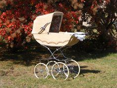 vintage babakocsi - Google Search Vintage Pram, Prams, Kids And Parenting, Baby Strollers, Retro, Google Search, Children, Kids, Baby Prams