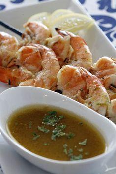 Grilled Shrimp with Scampi Butter