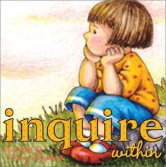 Inquire Within by Mary Engelbreit. (Hardcover 9780740731518)