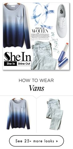 """""""Bez naslova #53"""" by yesanastasia1919 on Polyvore featuring mode, 7 For All Mankind et Vans"""