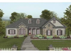 Eplans Craftsman House Plan - Front and Rear Covered Porches - 2000 Square Feet and 4 Bedrooms from Eplans - House Plan Code HWEPL65016
