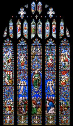 Kinver Church - stained glass window