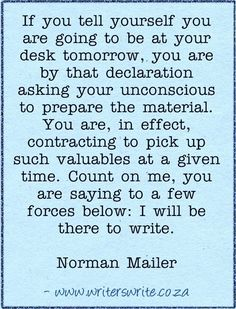 Quotable - Norman Mailer - Writers Write Creative Blog
