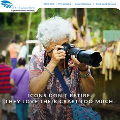 Icons don't retire. They love their craft too much.  #Seoppcguru