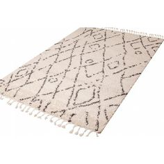 Vintage Distressed Chiraz Diamond Very Thin Light Mat White Shag Rug, Moroccan Berber Rug, Moroccan Pattern, Fade Styles, Polypropylene Rugs, Beni Ourain, Transitional Rugs, Lost, Tribal Fashion