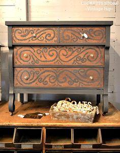 Painted Dresser; have Corey hand paint a design?