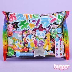 Kracie Popin' Cookin' DIY Oekaki Animal Candy Land Kit