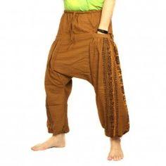 Sarouel Femme vert Pantalon Ethnique Aladin Harem Pant Aladdin green