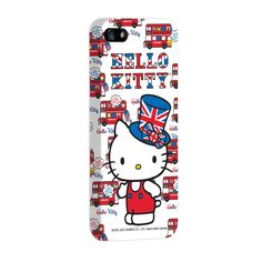 Capa de iPhone 5 Hello Kitty - London Bus
