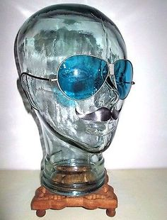 #Antique wwii #aquamarine blue #aviator sunglasses vintage pilot ww2 motorcycle u,  View more on the LINK: 	http://www.zeppy.io/product/gb/2/152050910496/