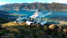 Helicopter to the Top of a 7500-ft #NewZealand Mountain and Bike Down. We're in !