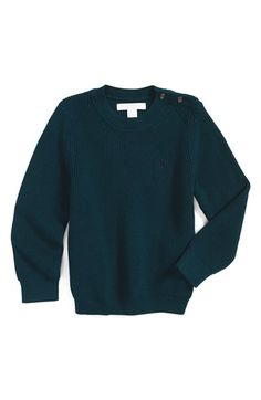 Burberry 'Mini Robinson' Sweater (Baby Boys) available at #Nordstrom