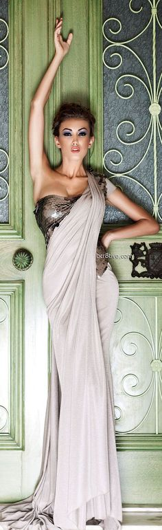 """Mireille Dagher Spring Summer 2013 Ready to Wear """"✮✮Feel free to share on Pinterest"""" ♥ღ www.fashionandclothingblog.com"""