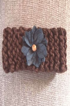 Boho brown can find Knit headband and more on our website. Knit Headband, February, Boho, Website, Knitting, Hats, Fashion Trends, Tricot, Hat