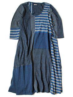 WEB SHOP - KAPITAL, IDG India border patchwork olive dress ¥ 22,464 = $222