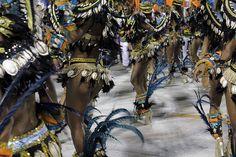 Carnival in the city of Samba