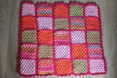 knitted baby blanket / neulottu vauvan peitto http://nappikuja6.blogspot.fi/