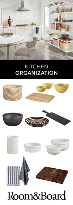 Does Marie Kondo have you feeling inspired? Get your kitchen organized with modern home decor and home organization products.