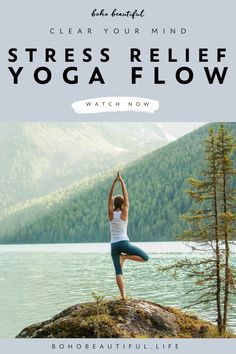 A 10 minute easy yoga flow that will help you find more balance and peace within your mind. | Inner Peace | This a yoga class that is geared towards all levels and can be done in the morning to clear and prepare your mind for the day to come, in the evening after a stressful day, or anytime you