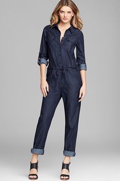 10 Iconic Denim Looks You Need To Steal For Fall #refinery29  http://www.refinery29.com/2014/08/73469/celebrity-denim-outfits-fall-2014#slide11