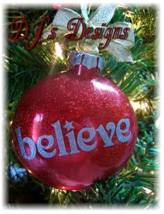 Believe in West Ham to win the league Handmade Ornaments, Diy Christmas Ornaments, Christmas Balls, Christmas Projects, Handmade Christmas, Holiday Crafts, Christmas Ideas, Christmas Decorations, Holiday Decor