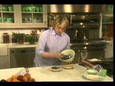 Martha Stewart - Blueberry Pie